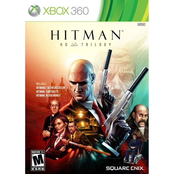 Capa  Download Hitman: HD Trilogy 2013 Xbox 360  JOGO