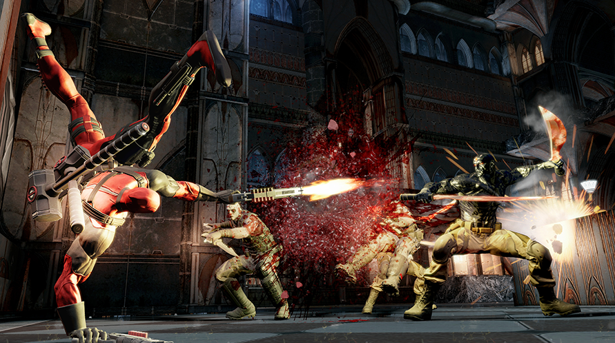 Deadpool's combat animations are pretty cool.