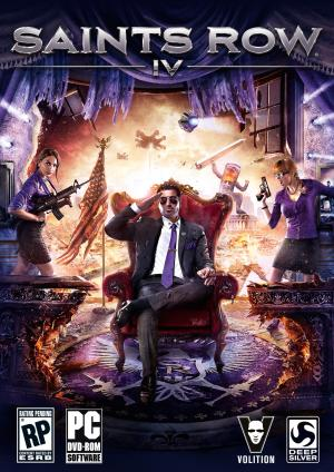 Saints Row IV Box Art 03