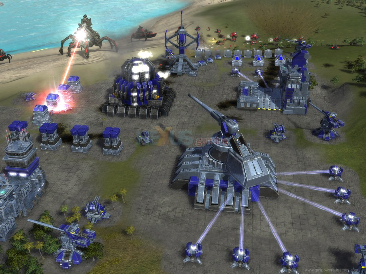 Supreme Commander didn't hold back when it comes to scale.
