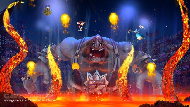 There's a few boss battles alone the way. They don't break the mold but are still solid.