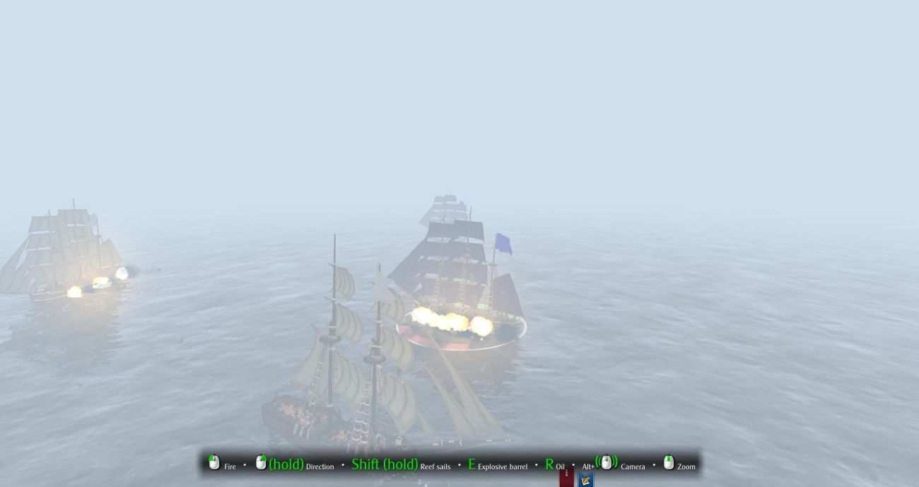I actually ended up in a battle so foggy I had to remain fully zoomed in. IN a strange way, it was exciting.