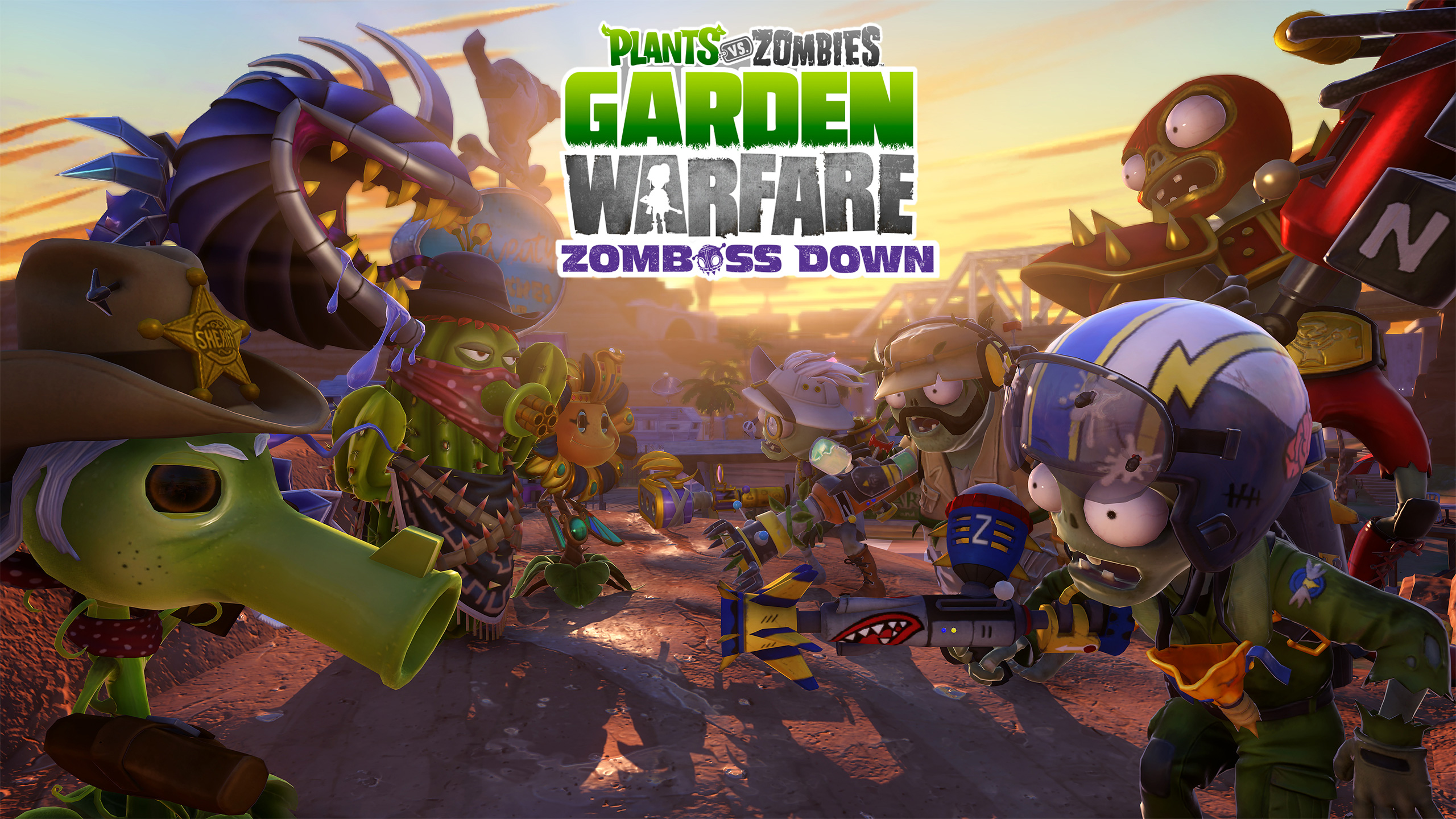 Hefty New Chunk Of Plants Vs Zombies Garden Warfare Dlc Adds New Characters And A New Map