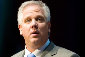 Fox News host Glenn Beck speaks during the National Rifle Association's 139th annual meeting in Charlotte