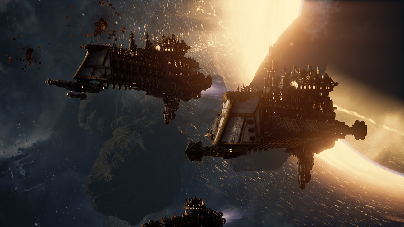 An Imperial Fleet entering the game.