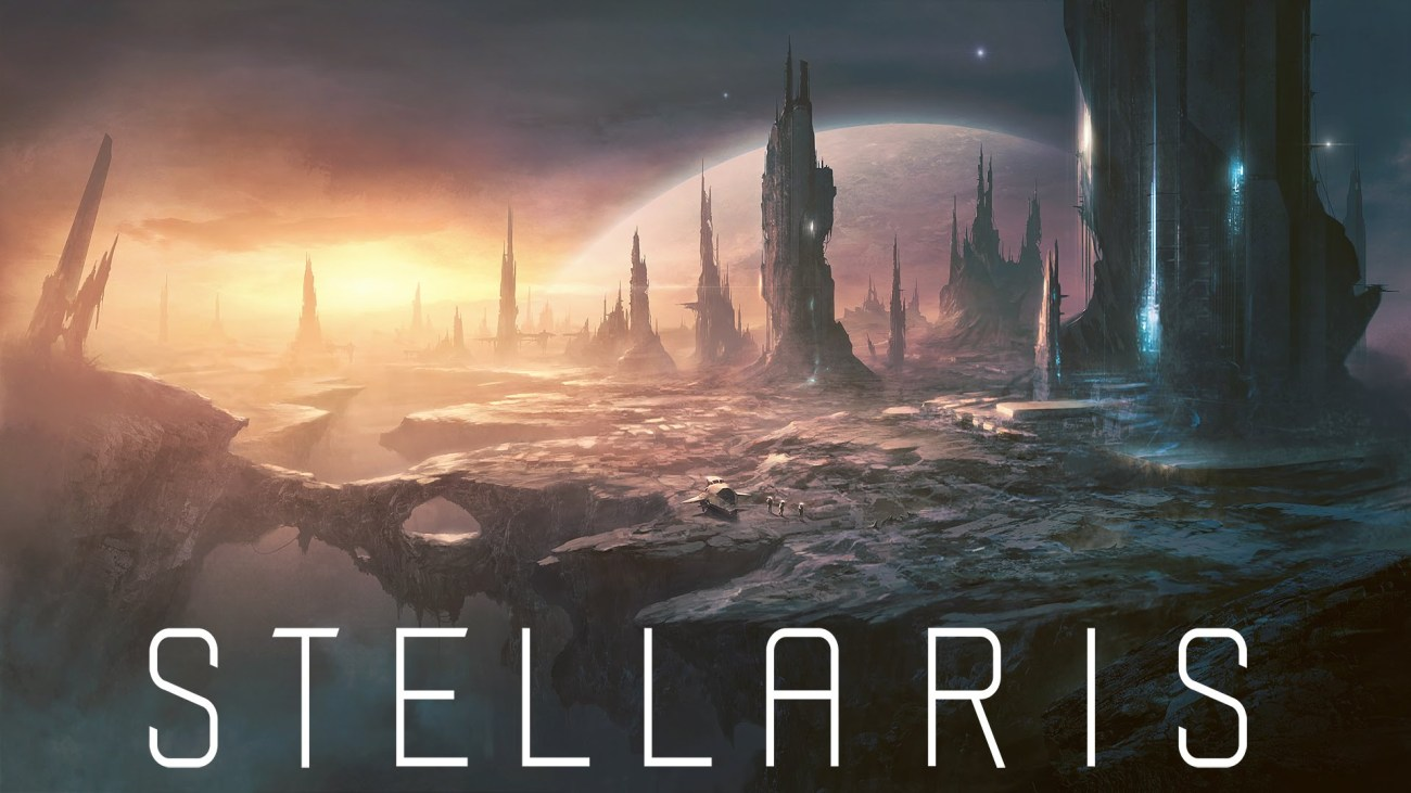 Stellaris' official logo.