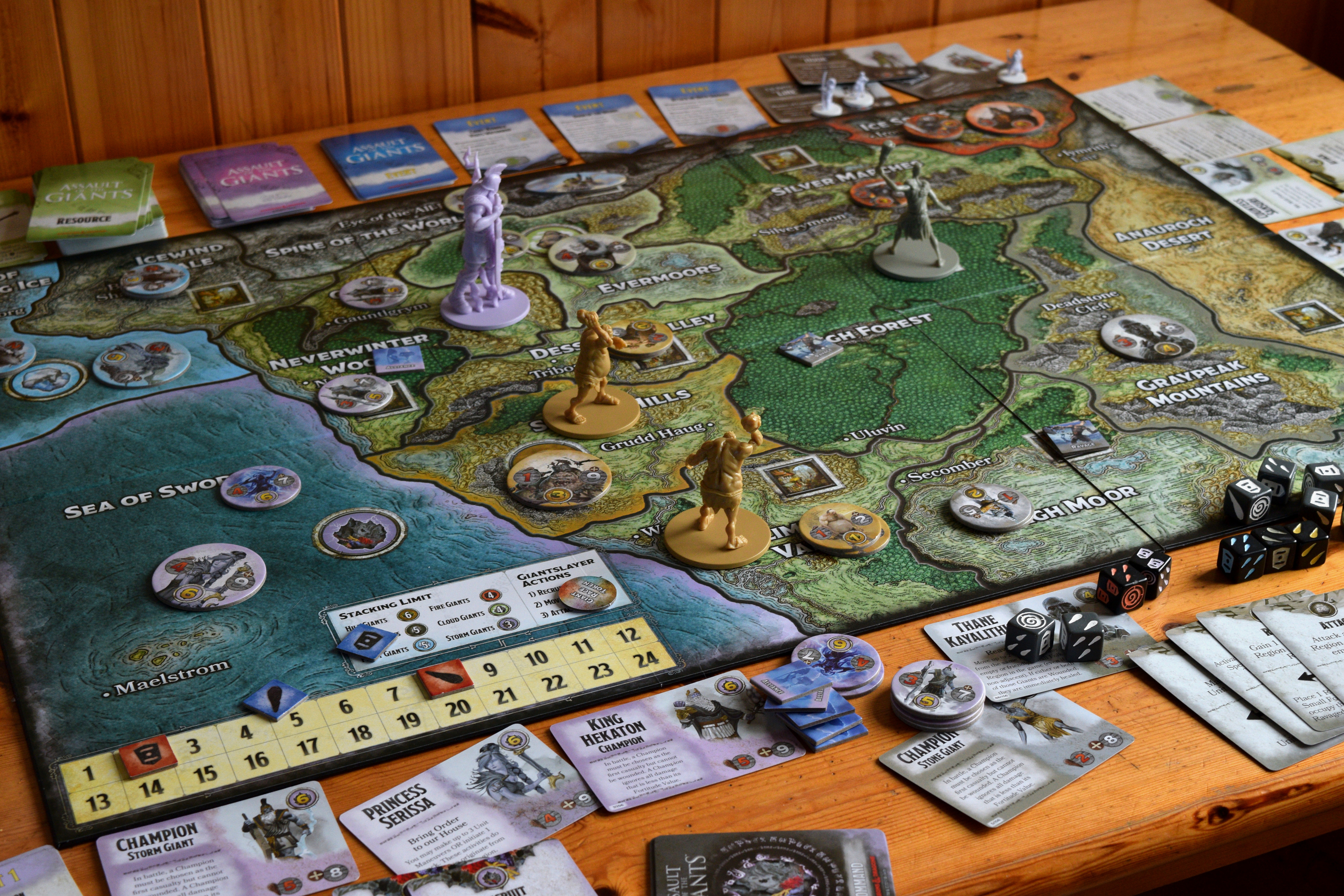 Assault Of The Giants Review That S Some Big Plastic Wolf S Gaming Blog