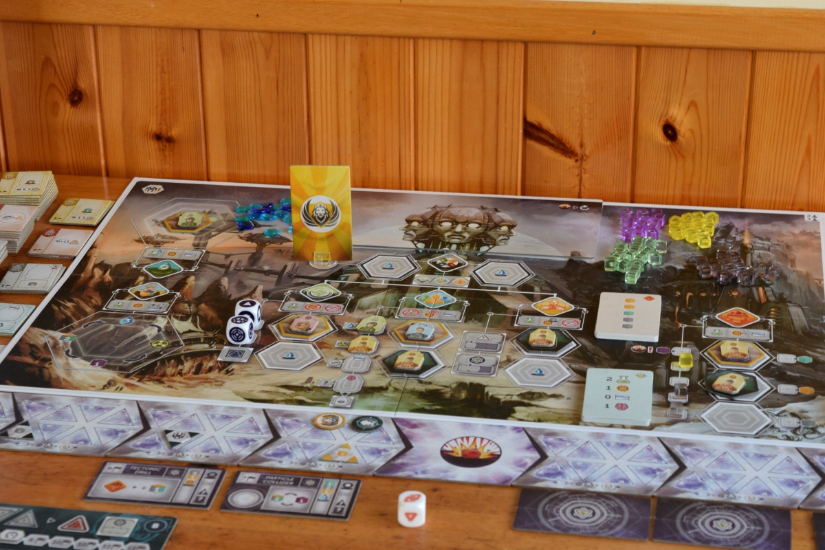 Anachrony Review – My Head Hurts – Wolf's Gaming Blog image