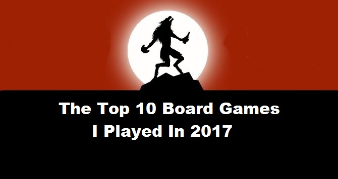 Boardgames of 2016