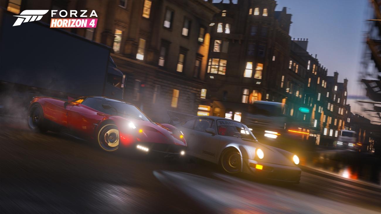 Forza Horizon 4 Night Drift