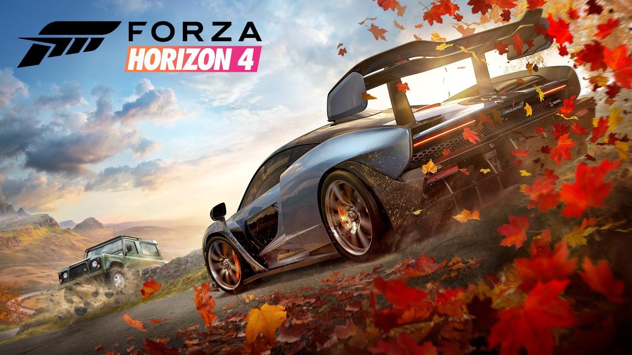 Forza Horizon 4 Small Horizontal Art