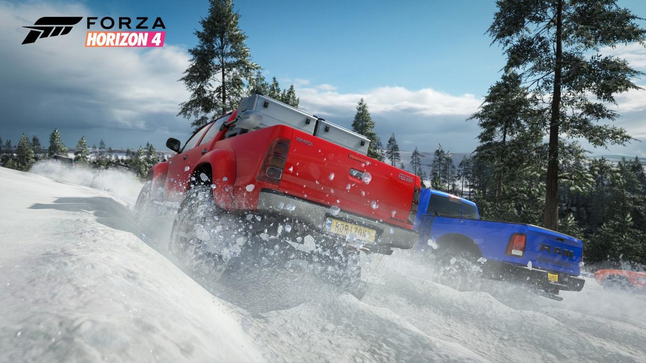 Forza Horizon 4 Snowy Trucks