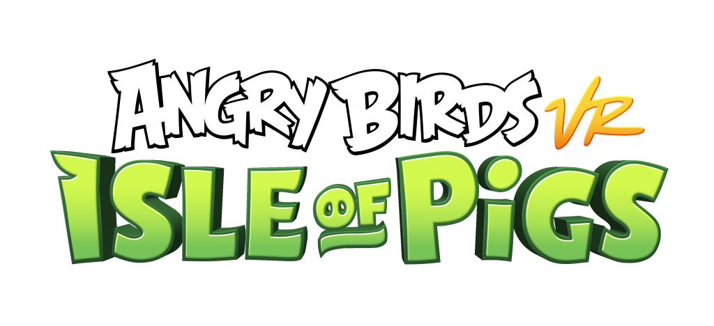 Official Angry Birds VR: Isle of Pigs logo