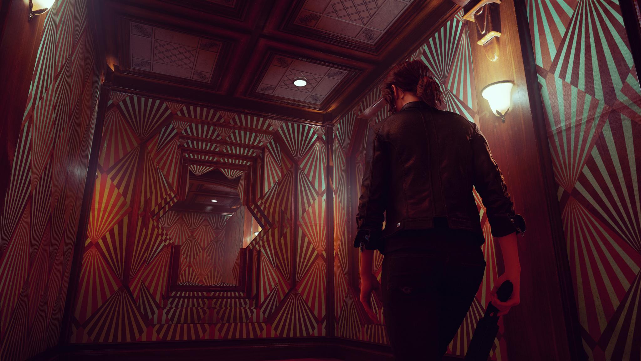 Jesse Faden explores the Ashtray Maze in Control