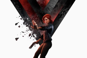 Official Control artwork depicting lead character Jess Faden