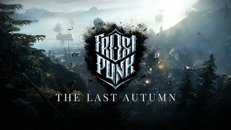 The official Frostpunk: The Last Autumn DLC logo