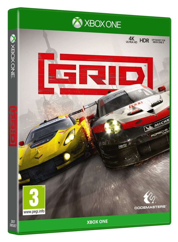 Grid official Xbox One edition box art.