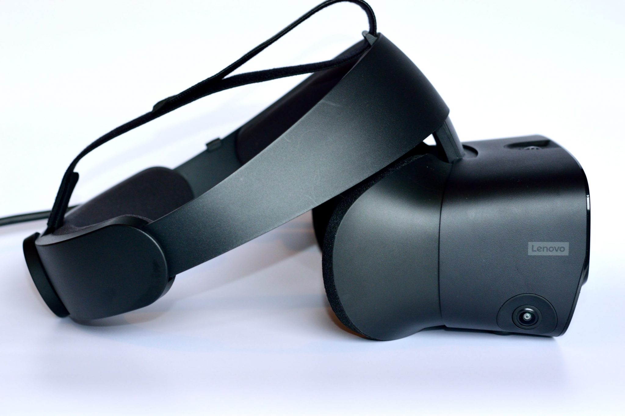 A side view of the Oculus Rift S VR Headset