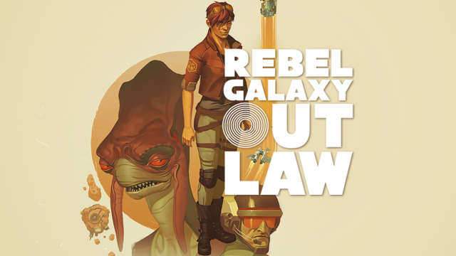 Official logo and artwork for Rebel Galaxy Outlaw