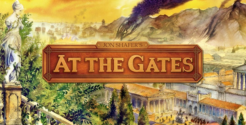 The official logo for Jon Shafer's At The Gates